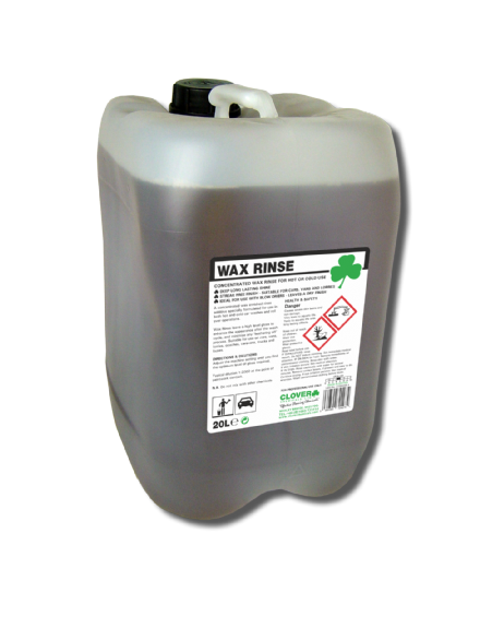 Clover Wax Rinse 20L - Concentrated Wax rinse